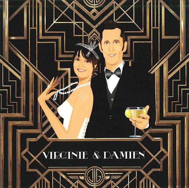 Gatsby Une Décoration De Mariage Inspirée Des Années: Thème Mariage : Gatsby Le Magnifique Et Les Années Folles