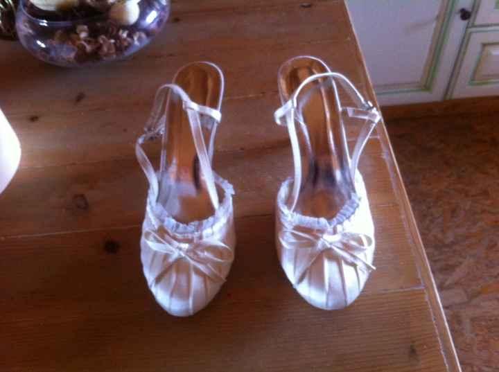 Chaussure ivoire introuvable! - 1