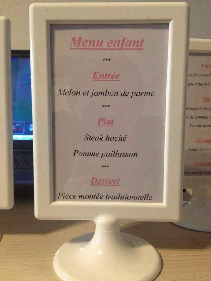 Nom de table + menu - 3