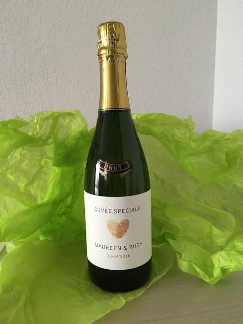 Les étiquettes  champagne - 1