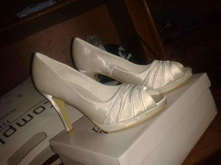 Mes chaussure de mariée