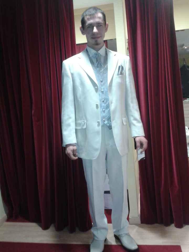 Le costume de mon homme