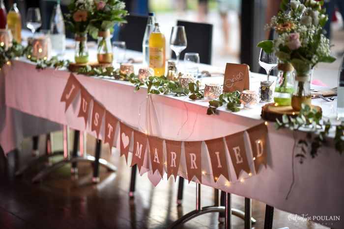 Marque-place des mariés 1