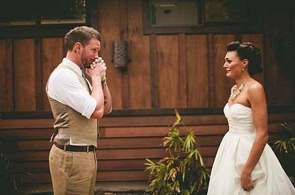 quand le marié découvre la mariée