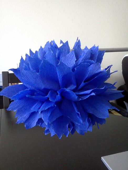 Idées déco dans les couleurs mariage bleu nuit (ou marine), argent et  blanc
