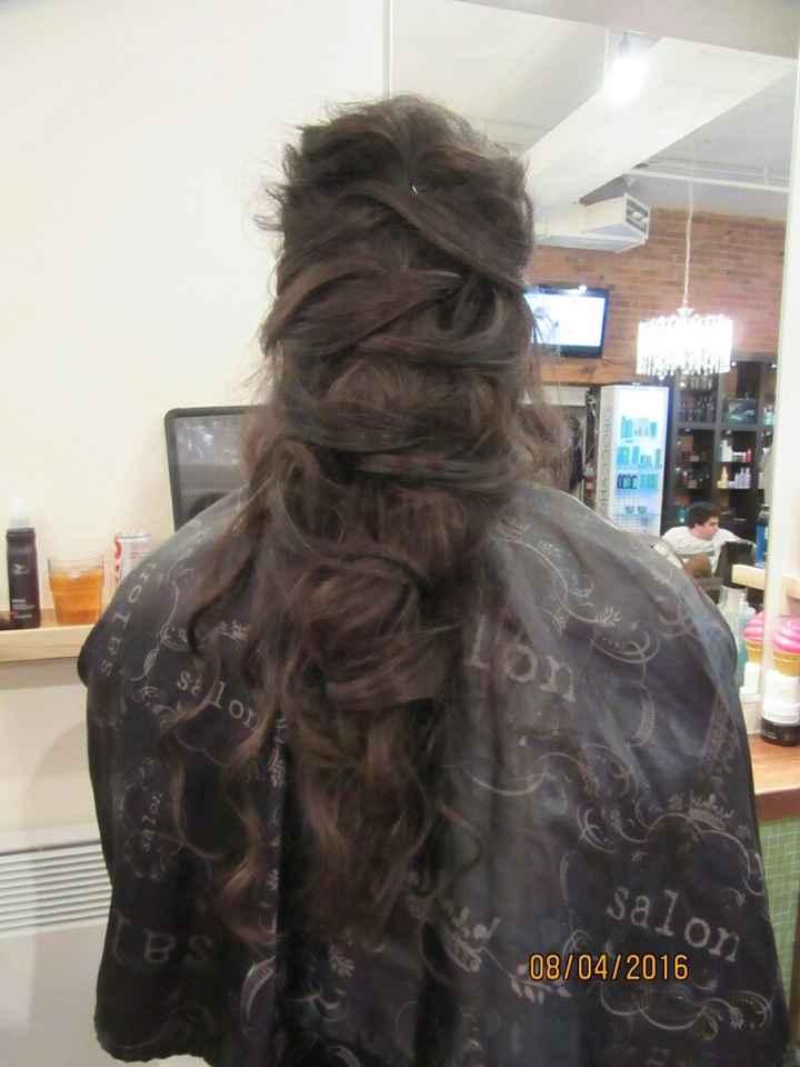 Photos coiffures cheveux fins - 1