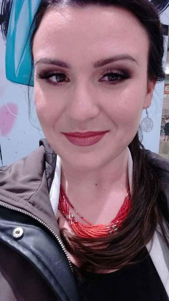 Et enfin mes essais maquillages - 1
