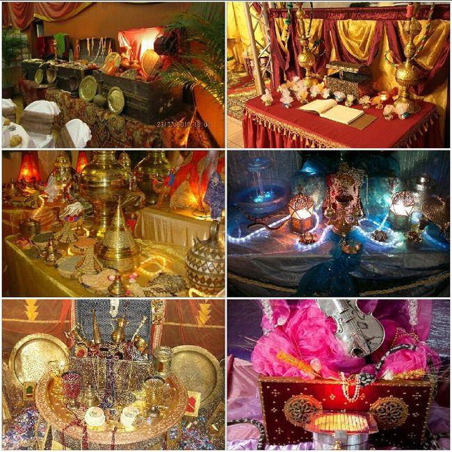 Idée déco mariage oriental - 3