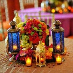 Idée déco mariage oriental - 4