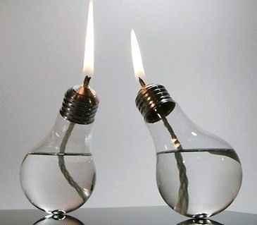 Lampe à huile ampoule