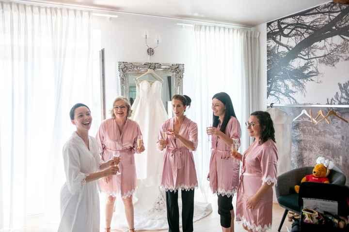 Peignoir Bride / Bridesmaids - 1