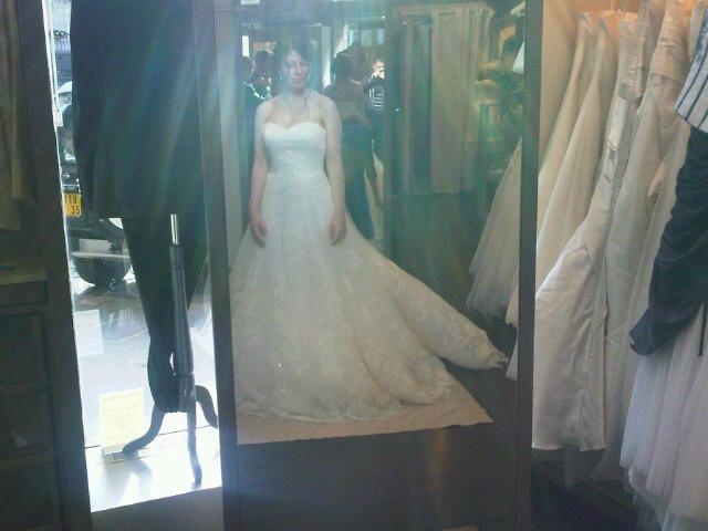 Ma robe : 2ème essayage