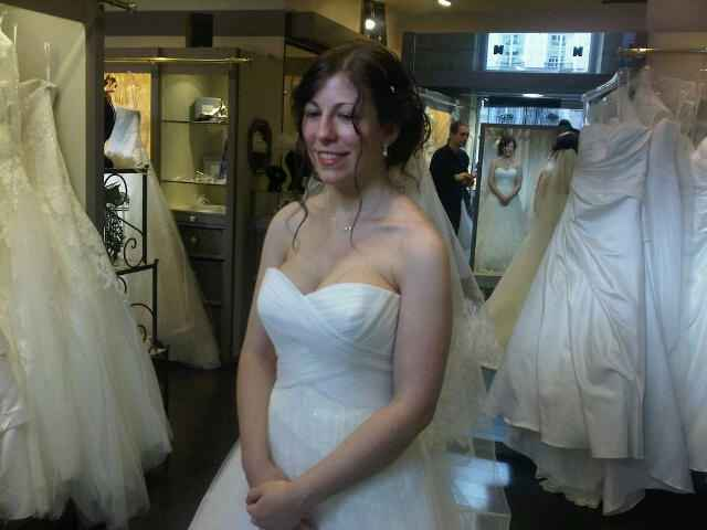 Mon 2ème essayage de robe