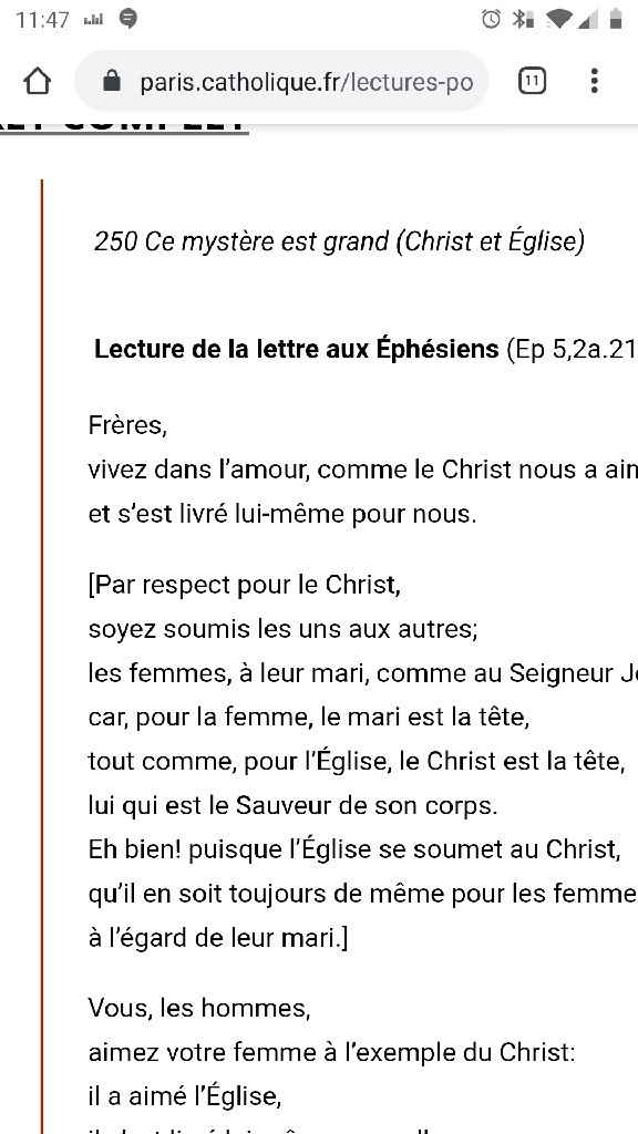 Texte église - 1