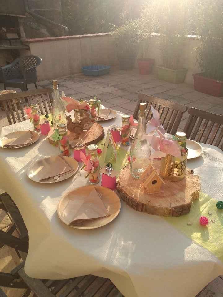 Table champêtre - 2