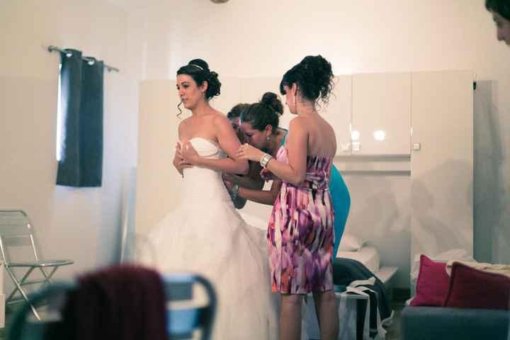 preparation avant la cérémonie