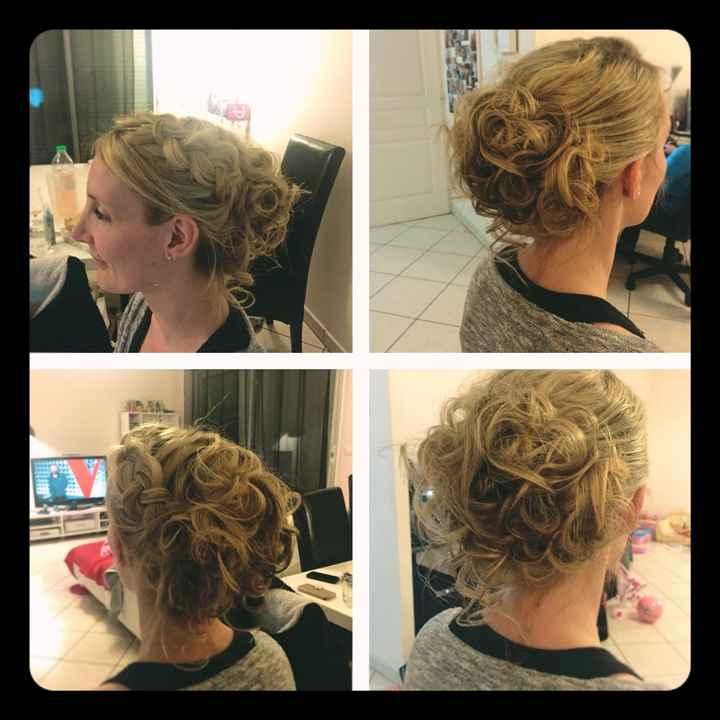 Mon essai coiffure à domicile :) - 1