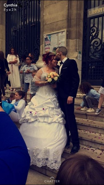 Mariage tout a l'heure - 1