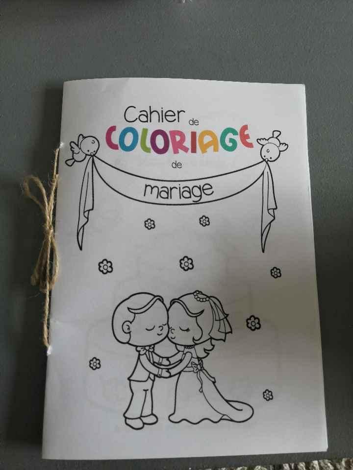 Cahiers de coloriages - 1