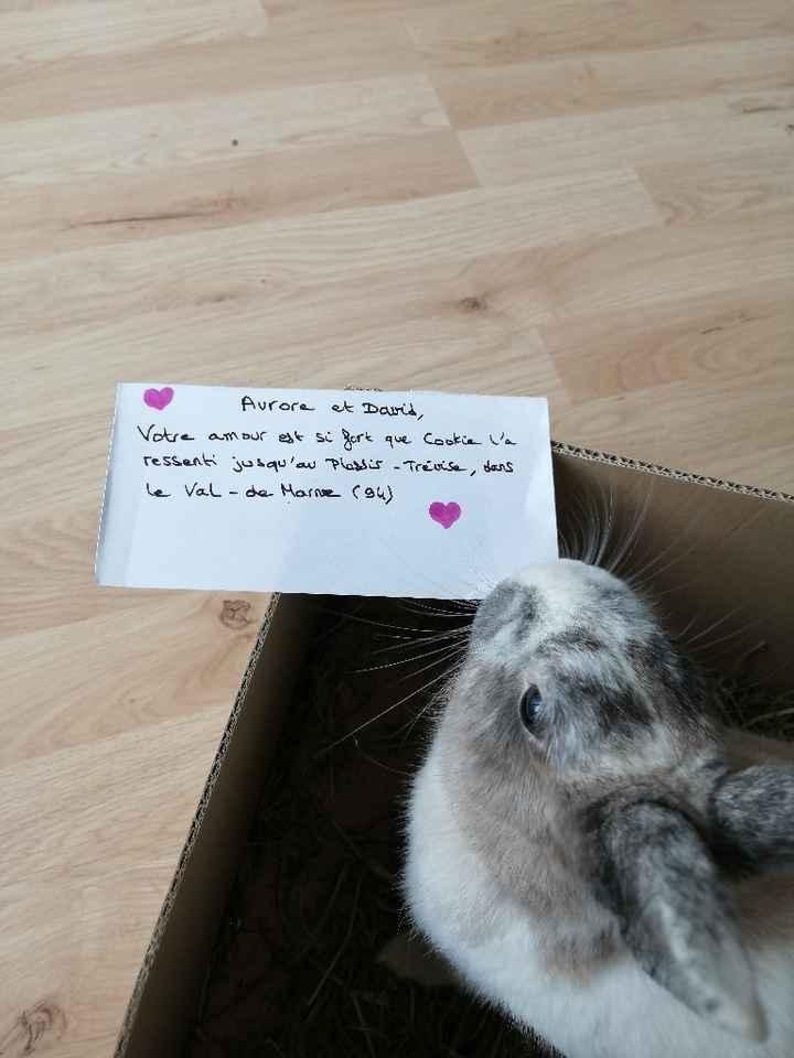 Love note animalier - 1