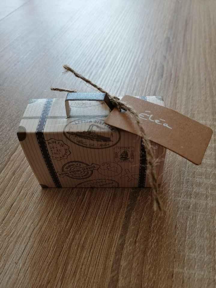 Contenant à dragée ou cadeaux invité - 1