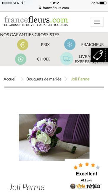 Avis fleuriste en ligne mode nuptiale forum for Fleuristes en ligne