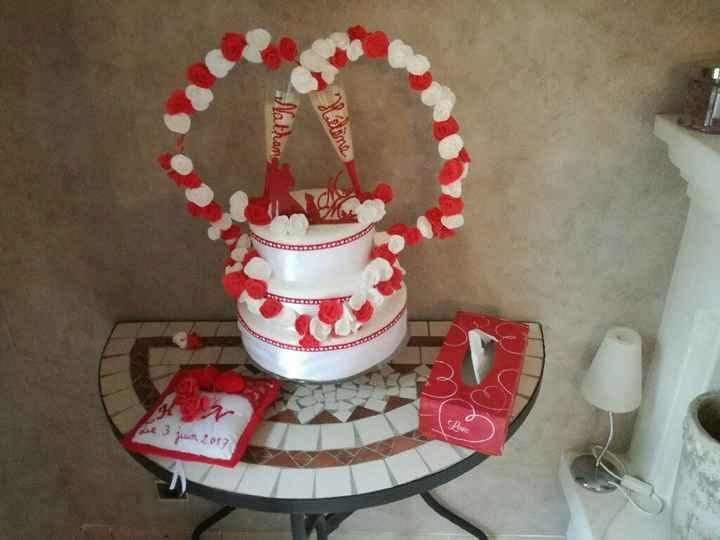 Faux wedding cake - 1