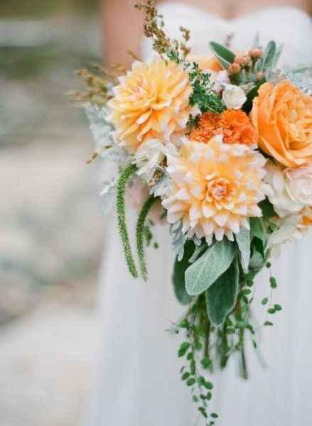 Orange comme couleur de mariage - 2