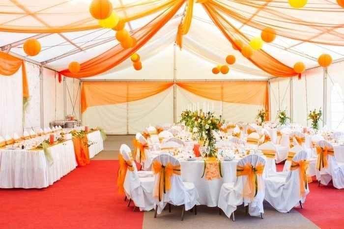 Orange comme couleur de mariage - 3