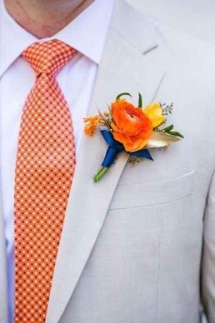 Orange comme couleur de mariage - 6