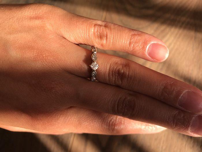 Partage ta bague de fiançailles !! 💍 😍 7