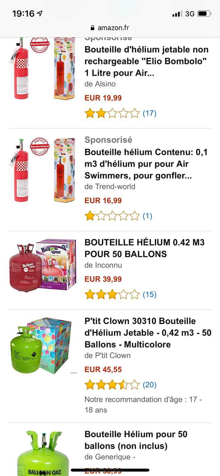 Quelle bombonne d'hélium ? - 1