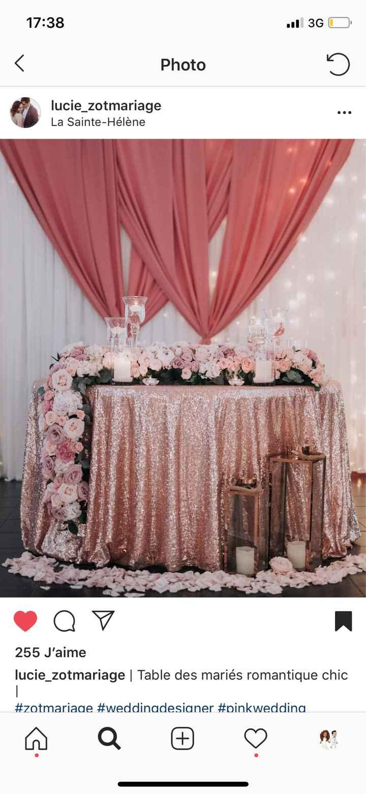 Mariage thème rose gold - 5