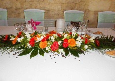 Fleur tropicale mariage thème exotique/tropical 18