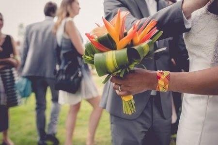 Fleur tropicale mariage thème exotique/tropical 20