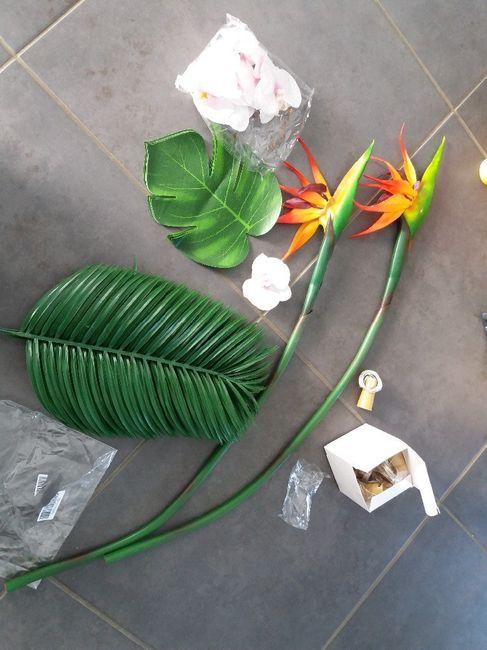Fleur tropicale mariage thème exotique/tropical 9