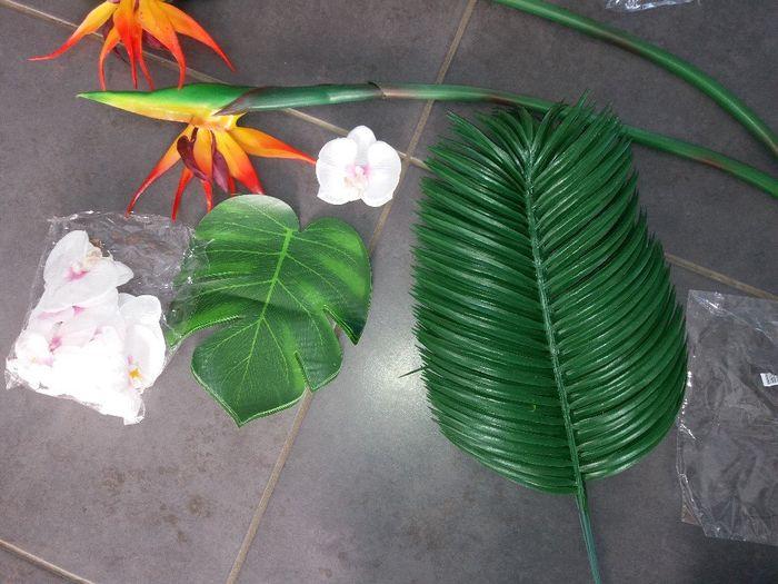 Fleur tropicale mariage thème exotique/tropical 10