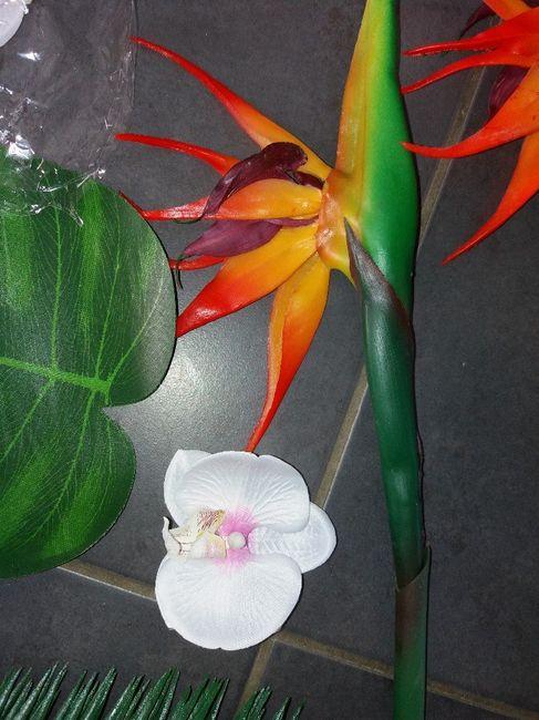 Fleur tropicale mariage thème exotique/tropical 11