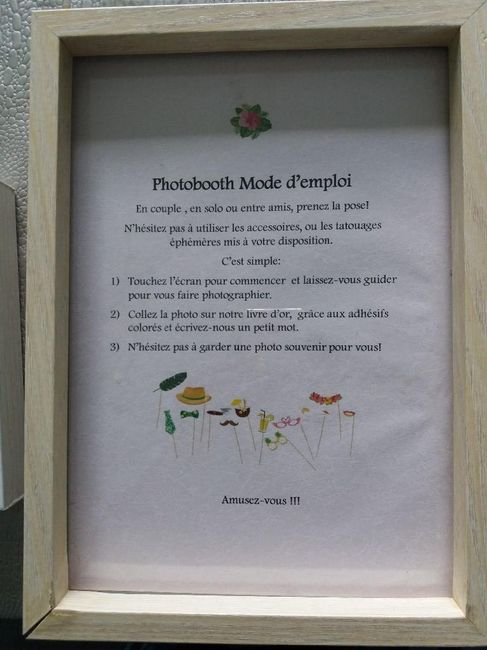 photobooth mode d'emploi