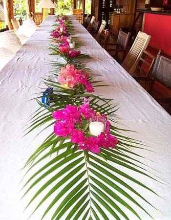 feuilles de palmier (ici naturelles)