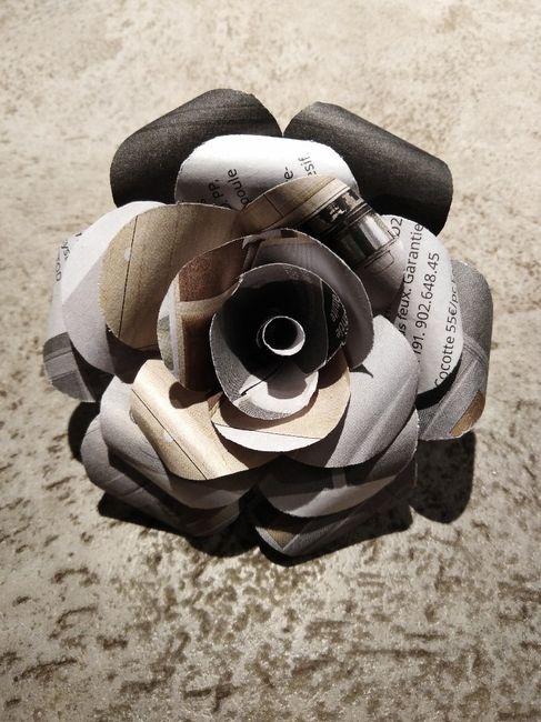 Fleurs en papier - 1