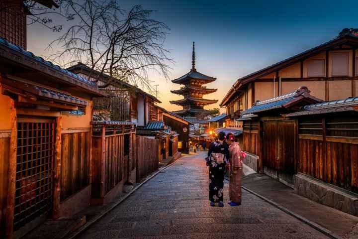 Si mon mariage était un V ... ce serait une Ville ... : Kyoto !!