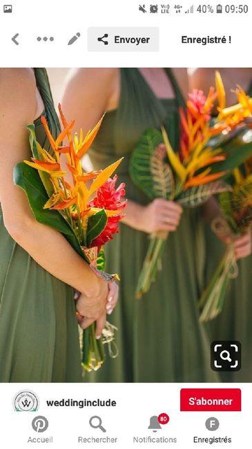 Mariage thème «tropical / exotique chic» 9