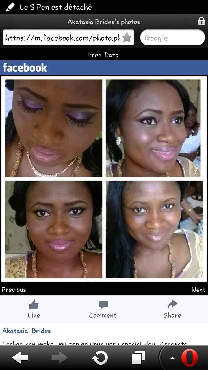 Maquillage peaux noires - 6