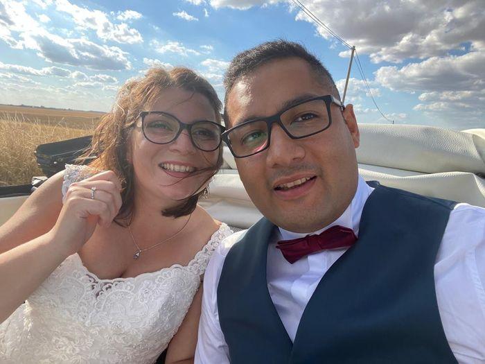 Mariée avec des lunettes 2