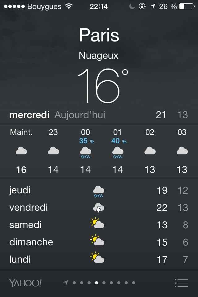 J-3 et déprimée par la météo ... - 1