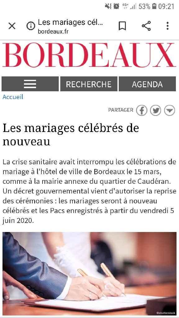 Futurs marié/ées de bordeaux - 1