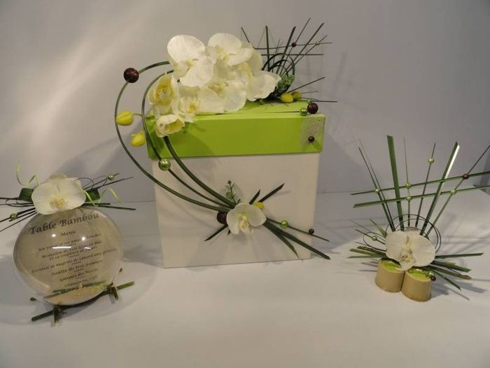 Décoration orchidee