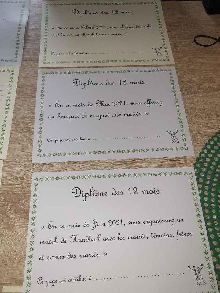 Diplome des 12 mois - 1