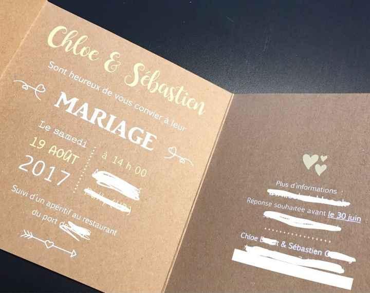 Invitations envoyées! - thème champêtre - 3